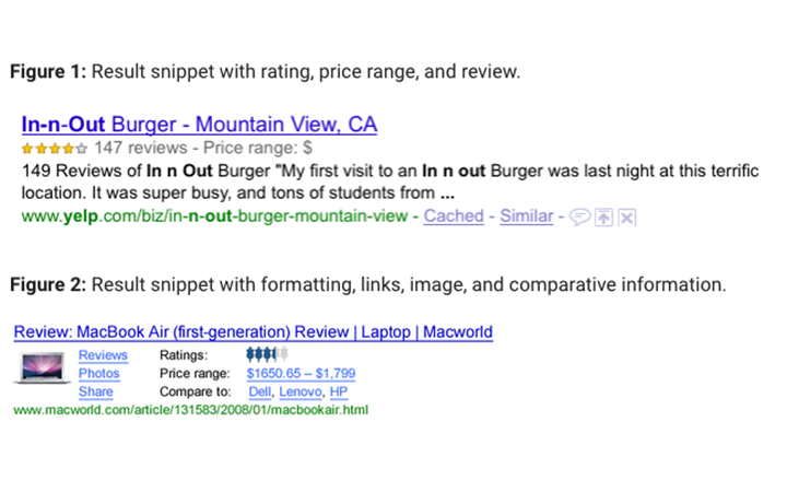 Google Snippets: how to achieve a search result that really stands out