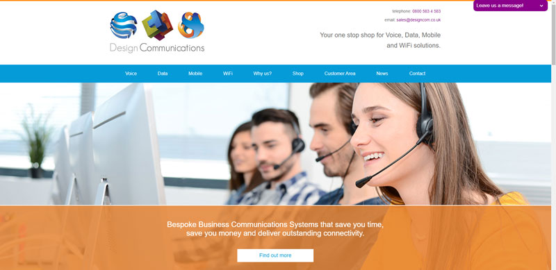 Realnet launches Design Communication's Website